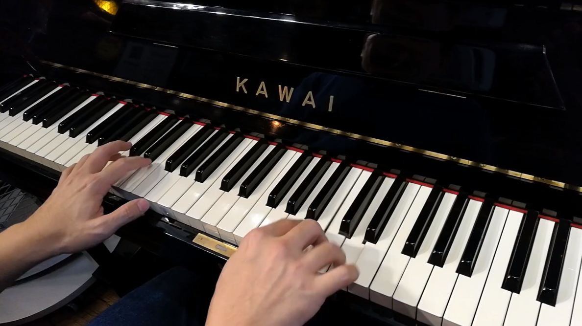Japan Used Piano Kawai K8 - Fur Elise