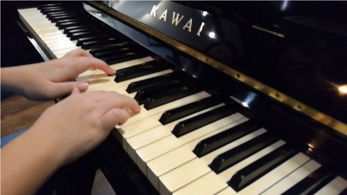 Japan Used Piano Kawai KS1 - Waltz in A