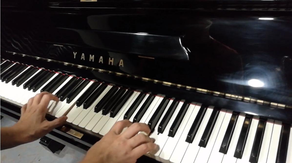 Japan Used Piano Yamaha U3B - Golden Faith