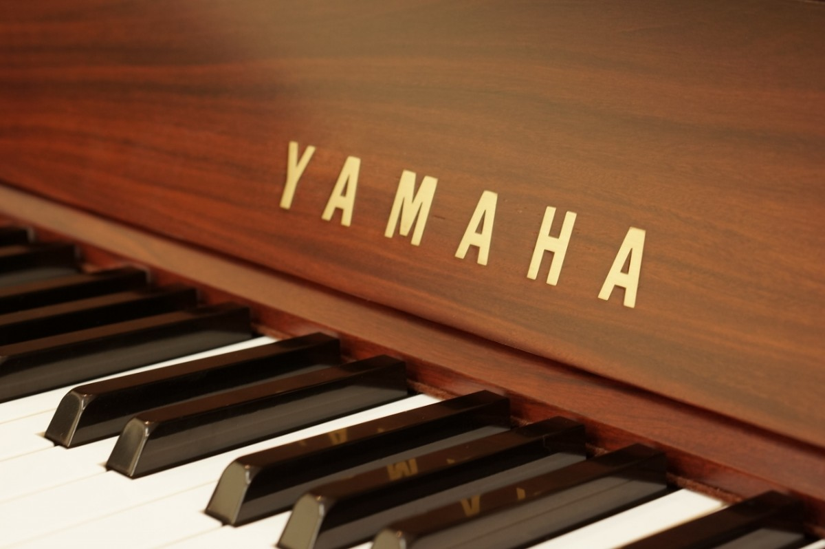 Japan Used Piano Yamaha W101 - key