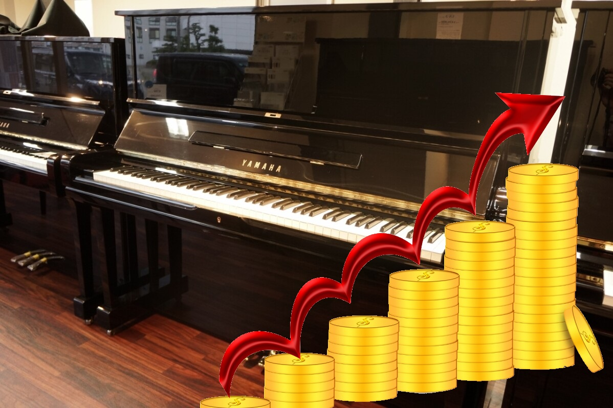 Japan Used Piano Yamaha and Kawai Increase in Value